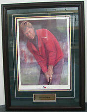 Ben Crenshaw Texas Golf Greats Framed Lithograph