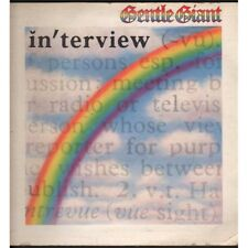 Gentle Giant Lp Vinile Interview / Chrysalis CHR 1115 Nuovo