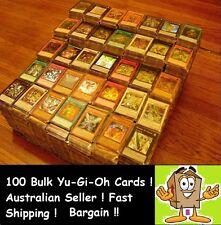YuGiOh!  200 Bulk Cards Repack Pack [20 HOLOS & RARES] CHEAP GENUINE KONAMI AUST