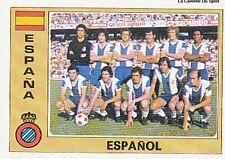 N°081 ESPANOL TEAM EURO FOOTBALL 76 STICKER PANINI CROMO ESPANA SPAIN