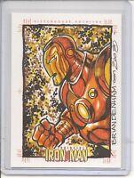 Iron Man Brian Denham sketch card