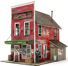 BANTA MODELWORKS CHILLERY'S CAFE G F 1:20.3 Model Railroad Structure Kit BM8090