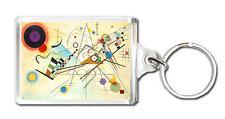 Kandinsky Composition 8 Porte-Clés Porte-Clés