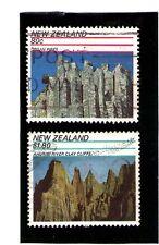 Nueva Zelanda Paisajes Montañas Naturales año 1991 (AG-18)