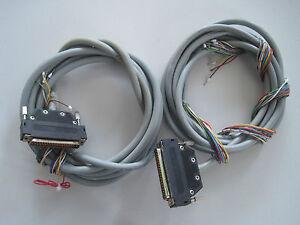 1x 37pol. Stecker mit Kabel Unitronic FD-CP 10x0,25 für Digiforce Burster