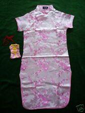 New Girls Pink Chinese/Oriental  Dress 11-12 Y+Purse