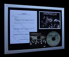 STONE SOUR Reborn LTD GALLERY QUALITY MUSIC CD FRAMED DISPLAY+FAST GLOBAL SHIP