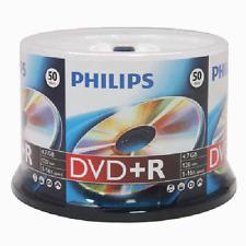600 PHILIPS LOGO 16X DVD+R DVDR Blank Disc Media 4.7GB  with Cake Box