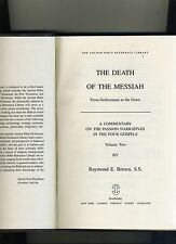 ANCHOR BIBLE REF LIBRARY-THE DEATH OF THE MESSIAH VOL 2-BROWN-1994-1ST/1ST-HB-VG