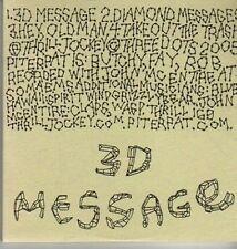 (DA111) Pit er Pat, 3D Message - 2005 DJ CD