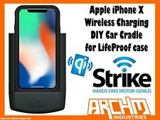 STRIKE ALPHA APPLE IPHONE X WIRELESS CHARGING CAR CRADLE FOR LIFEPROOF CASE DIY