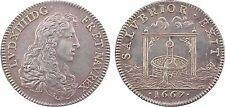 Louis XIV, SALVBRIOR EXIT, jeton argent , 1667, refrappe - 2