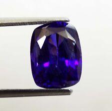 9.80 ct Cushion Shape Cambodia Neon Zircon Blue Color Gemstone