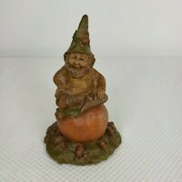 1983 Tom Clark Gnome OJ Orange Cairn Studio 55 Signed Retired