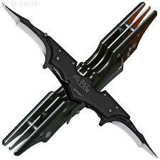 Haller Taschenmesser Batclaw 2 Klingen federunterstützt Leichtmetallgriff Clip