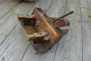 ANTIQUE WOODEN PLANE CARPENTRY MOULDING PLANE CABINET MAKERS TOOL SHEFFIELD