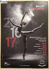 Bolshoi Ballet In Cinema Promotional Poster (2017 Japanese)