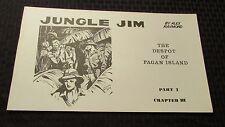 1972 JUNGLE JIM by Alex Raymond Part 1 Ch.3  B&W Sundays King Features KFS VF