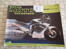 REVUE TECHNIQUE MOTO SUZUKI GSX-R 1100 G-H (1986-1987)