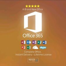 2016 office 365 genuine 5PCS for Mac and Windows with 5,120GB Onedrive Cloud