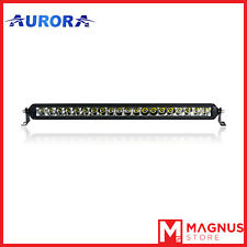 "AURORA barra a led serie S5 - Aurora led bar da 20"" 100 Watt Jeep e fuoristrada"