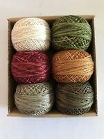 Valdani Perle Cotton #8 Floss//Designer Assortment//Carried Away:Summer Sampler