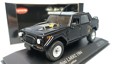 MINICHAMPS  Excl for Kyosho  Scale 1:43  Lamborghini  LM002  1984  Black  Used