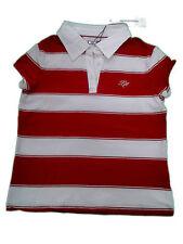 Gestreifte Mädchen-Tops, - T-Shirts & -Blusen mit Polokragen