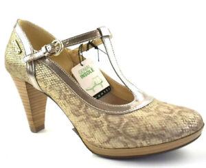 Bugatti Damen Isabella Pumps Gold/Metallics