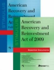 STIMULUS: AMERICAN RECOVERY AND REINVESTMENT ACT OF 2009 [978160 (PAPERBACK) NEW