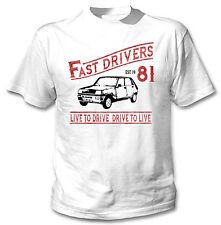 RENAULT 5 Driver veloci P-NUOVO Amazing Graphic T-Shirt S-M-L-XL - XXL