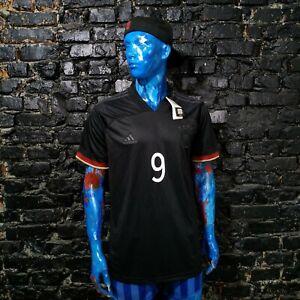 Germany Team Jersey Away football shirt 2020 - 2022 Black Adidas EH6117 Mens XL