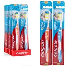 12 x Colgate Toothbrush Extra Clean Soft Assorted Colours