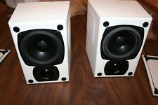 M&K K-4 Tripole® Left and Right Speakers  Made in USA  White **New in Box**