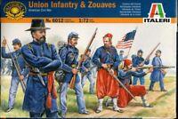 ITALERI 1/72 Fanteria Nordista E ZOUAVES GUERRA CIVILE AMERICANA #6012