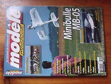 $$a1 Revue modele magazine N°624 Plan encarte Minibulle MB-05  Sky Cat  Gee Bee