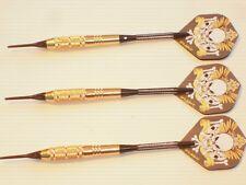 Soft Tip Darts 18 Gram Brass with Nylon Case, New #1013