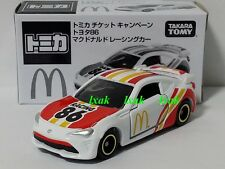 TOMICA #086-8 TOYOTA 86 JAPAN McDONALD'S 2017 NOT FOR SALE AE86 INITIAL-D MODEL