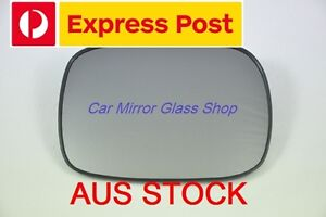 RIGHT DRIVER SIDE VOLVO V70 XC 2001-2003 MIRROR GLASS (pre-facelift)