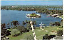 Island In the Sky Lift Ride Cypress Gardens Kodak Winter Haven Florida FL