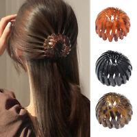 Bird's Nest Bun Maker Meatball Head Hair Claw Clips Temperament Ponytail Buckle