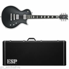 ESP E-II ECLIPSE BB Black Satin BLKS Electric Guitar NEW w/ FREE Hardshell Case!