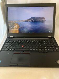 Lenovo Thinkpad P50 i7-6820HQ 2.7 GHz 32gb Quadro M2000M  512GB SSD