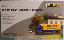 Faller 161555, Spur H0, Faller Car System MB Atego Dachser, Kühlkoffer