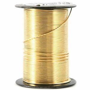 Craft Wire 20 Gauge 12yd-Gold -20GA-85212