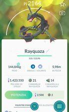 🐉POKEMON GO SHINY🐉✨ - RAYQUAZA ULTRA RARE legacy move (Registered or 30 Days)
