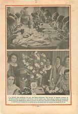 Atelier Parisien Fleurs Artificielles Tissus Gaze Linon Velour 1932 ILLUSTRATION