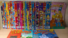 22 Simpsons Comics + Wallace & Gromit Comics [1st Issue] + The Beano