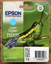 EPSON STYLUS PHOTO 950 Cian Cartucho De Impresión De Tinta Original LIGHT T0335-Nuevo