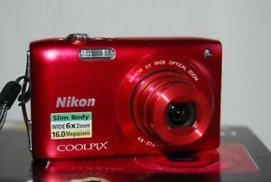 16,0 MP Nikon Coolpix S3200 in OVP